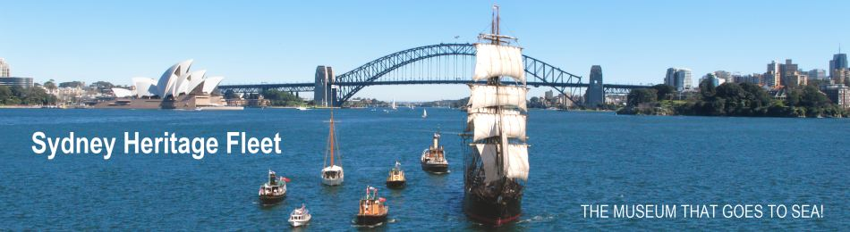 Sydney Heritage Fleet - the museum that goes to sea