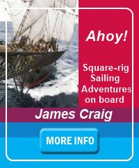 Link for information on sailing on the barque James Craig