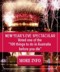 Link to book a place for the 2013 New Year's Eve spectacular on James Craig