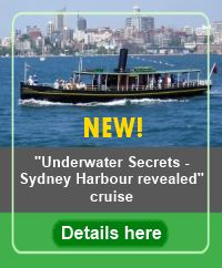 Link to Underwater Adventures on Sydney Harbour cruises