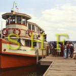 011 Private Ferries - Wangi Queen Showboat 2 at Belmont Wharf c.1975