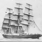 04.CUTTY SARK by Capt. Woodget in 1893. SHF Coll.