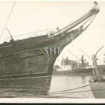 08.CUTTY SARK laid up post WW2. SHF Coll.