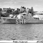 ACUTE HMAS, 1967,Swan River. May 1978. SHF Coll.