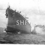 ADELAIDE HMAS, launch July 27, 1918.SHF Coll.