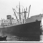 ADELAIDE STAR 1950,with launch CAMDEN. SHFColl.