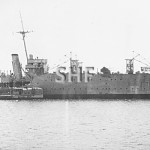 ALBATROSS HMAS, 1928.laid up c. 1935. SHF Coll.