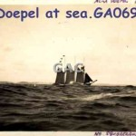 ALMA DOEPEL at sea. GA0693