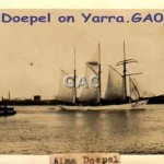 ALMA DOEPEL on Yarra. GA0696