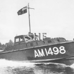 AM1498, Army 38ft. fast supply boat. c. 1945. SHF Coll