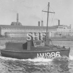 AM1986, Army Work Boat AWB. c. 1945. SHF Coll.