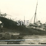 AN LEE 1905, aground. SHF Coll.