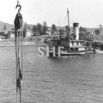 ANTLEON, dredge, 1898-1932.off W'gong.SHF Coll.
