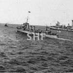 ANZAC HMAS, escorts AUSTRALIA to scuttling site. April12,192