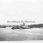 AORANGI, laid up, Feb 15, 1951. Davidson File 55.