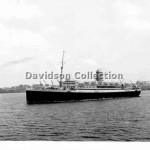 ASTURIAS, outbound, Jan 3 1952. Davidson File 65.