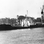 AYRFIELD, ex CORRIMAL 1911-1969. Inbound March 1969. SHF Co