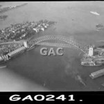 Aerial view, Bridge. GA0241.