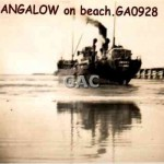 BANGALOW on beach. GA0928.