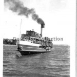 BARAGOOLA, leaves Manly, Oct 21,1950. Davidson File 50.