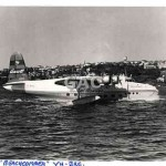 BEACHCOMBER, VH-BRC, Ansett on Rose Bay, c.1960.