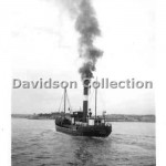 BERGALIA outbound, Sep 16 1952. Davidson File 57.