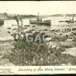 BINNGARRA launch,postcard Gwenferry Coll.