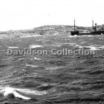 BIRCHGROVE PARK, rough seas,Nov 28 1951. Davidson File 60.