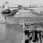 BOOROOWANG MSB. with 600 ton spoil barge, 1981. Proof 621-2.