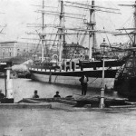 BORDER CHIEF, Sydney Cove after 1872. SHF Coll.
