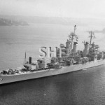 BREMERTON USS, 1944, April 1959. SHF Coll.