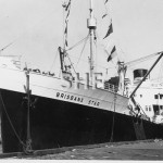BRISBANE STAR 1937 at Glebe Is.SHF Coll.
