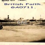 BRITISH FAITH. GA0711
