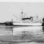 BULOLO beached Kerosene Bay,Aug 1951.Davidson SHF File 47.