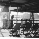 BULOLO deckchairs and ST.GILES.Dec 3 1951,Davidson File 66.