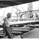 BULOLO wharfies @work, Jan 31 1952,Davidson File 65.