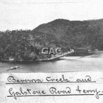 Berowra car ferry, c. 1920. File 308-33. copy.