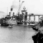 CALDARE coaling Manly Gas Works, Mar 29,1951. Davidson File