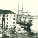 CAPE CLEAR in Walsh Bay, pre 1875. SHF Coll.