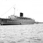 CARONIA, inbound Feb 13,1951. Davidson File 55.