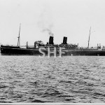 CATHAY 1925, outbound Sydney pre WW2.SHF coll.