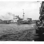 CHANGTE and tugs,Oct 9,1950.Davidson File 55.