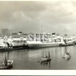 CITY OF LANCASTER 1958 with tug MANLY COVE, SHF. Coll.
