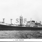 CLAN MACIVER 1958.Real photo post card. SHF Coll.
