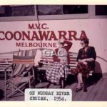COONAWARRA. PS. on board 1954.
