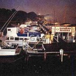 Cabarita (Sanders) marina fire, midnight. 1992. File 1143-10.