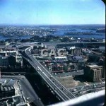 Cahill Expressway from AMP, Aug 23, 1962. GA0789.