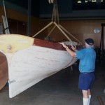 Captains gig in Restoration workshop