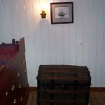 Capts cabin and photo and trunk