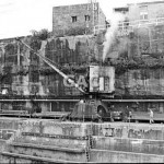 Crane, steam, Cockatoo Dockyard, 1973. Proof 81-23.